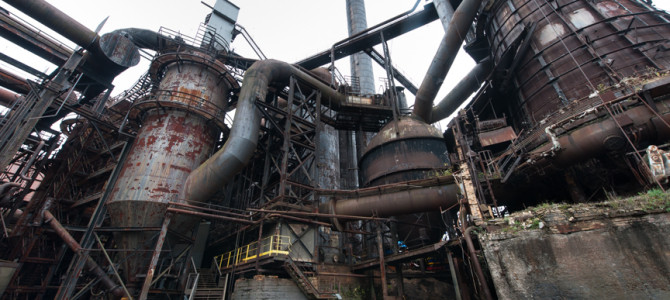 #61 Exploring Carrie Furnace with Ron Baraff, Stephanie Strasburg, and Rick Rowlands