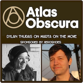 # 63 Atlas Obscura- Interview with Co-founder Dylan Thuras