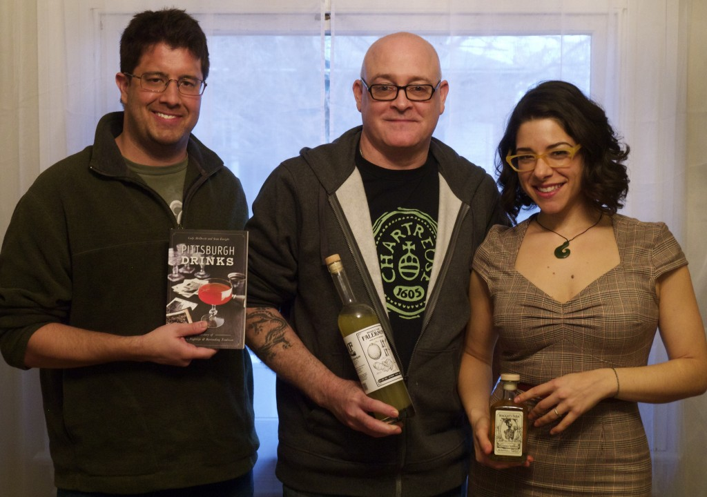 Cody Mcdeviit, Sean Enright, and Marta Mazzoni on Marta On The Move Podcast for Pittsburgh Drinks. Sponsored by Maggie's Farm Rum