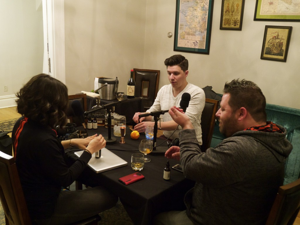 Whiskey Rebellion, speakeasies, whiskey tasting, bitters tasting, history and more on Marta On The Move Podcast