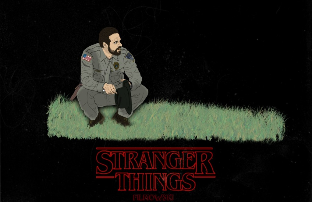 David K Harbour chats Stranger Things on Netflix on Marta On The Move podcast, local fan artwork